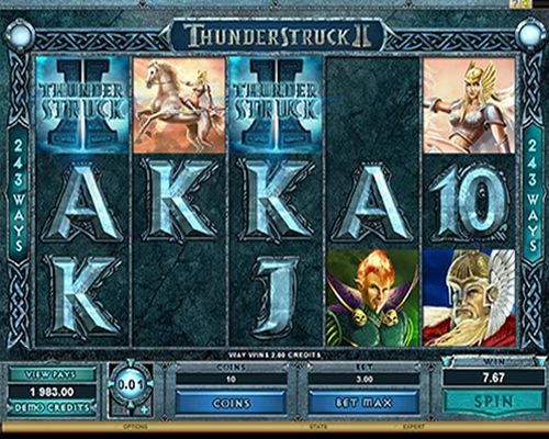 Thunderstruck Online Slot - Microgaming - Rizk Online Casino Sverige