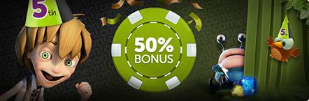 ComeOn bonus